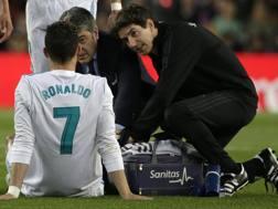 Ronaldo curato al Camp Nou. Ap