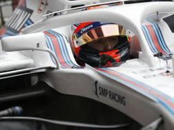 Robert Kubica, 33 anni, 76 GP e una vittoria, al volante della Williams-Mercedes: tornerà in pista venerdì mattina per le libere AP