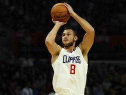 Danilo Gallinari, 29 anni, ha chiuso la prima stagione ai Clippers. Ap