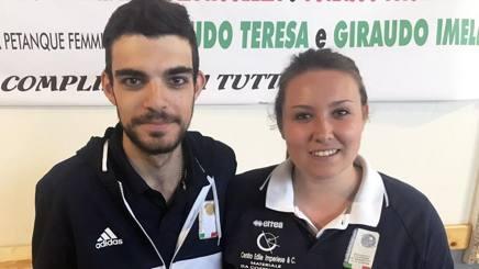 Jessica Rattenni e Diego Rizzi,