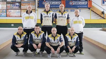Gli atleti del laBoville Marino, campioni d'Italia