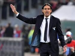 Simone Inzaghi, 42 anni, seconda stagione alla Lazio. Ansa
