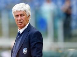 Il tecnico dell'Atalanta, Gian Piero Gasperini. Ansa