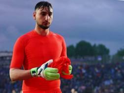 Gianluigi Donnarumma, 19 anni, portiere del Milan. LaPresse
