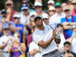 Tiger Woods al The Players Championship. Afp
