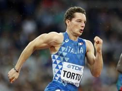 Filippo Tortu . Ap
