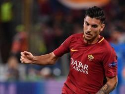 Lorenzo Pellegrini, 21 anni, centrocampista della Roma. Afp