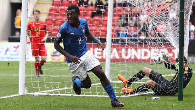 Gyabuaa Esulta Dopo Il Gol Al Belgio Getty