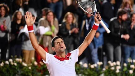Novak Djokovic, primi quarti in questa stagione. LaPresse