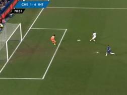 Il quarto gol nerazzurro al Chelsea