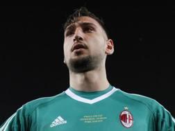 Gigio Donnarumma, portiere del Milan. LaPresse