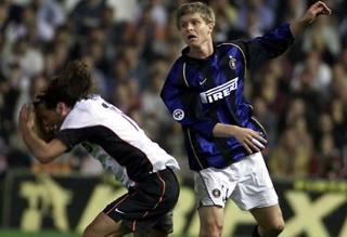 Gresko in maglia Inter. Pegaso