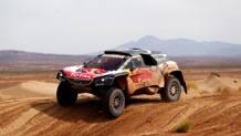 Carlos Sainz, vincitore della Dakar 2018 sulla Peugeot. Getty