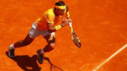 Rafa Nadal, 31 anni, n°2 al mondo. Getty Images