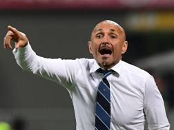 Luciano Spalletti, tecnico dell'Inter. Afp