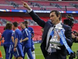 Antonio Conte, 48 anni, da due stagioni tecnico del Chelsea. Afp