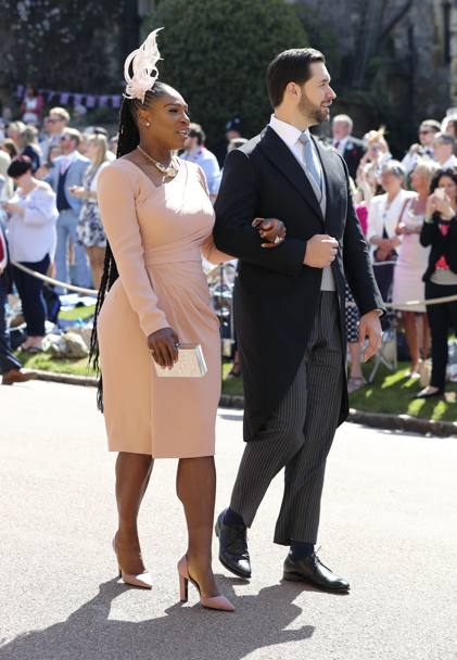 Risultati immagini per SERENA WILLIAMS al matrimonio di harry