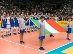 Gli azzurri a Catania: vittoria 3-0 sull'Australia