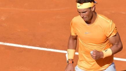 Rafa Nadal, 31 anni. Afp