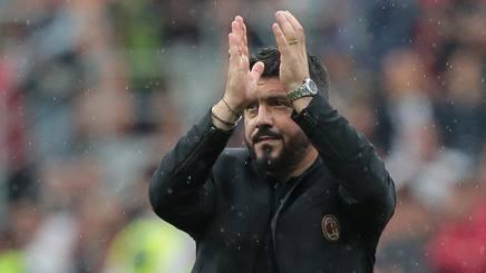 Rino Gattuso, 40 anni, tecnico del Milan. Getty
