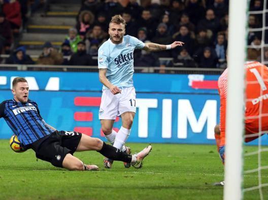 Lazio-Inter, le formazioni Immobile c'è, Vecino dal 1'