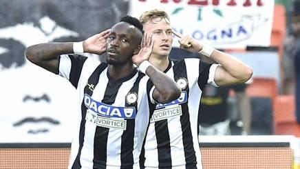 Fofana e compagni esultano al gol del vantaggio. Getty