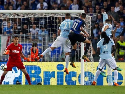 Lazio-Inter 2-3, il tabellino: espulsi Lulic e Patric dalla panchina