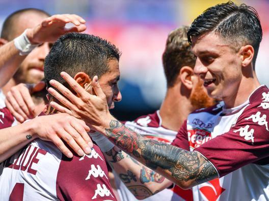 II Torino  chiude in bellezza Iago+Baselli: 2-1 al Genoa