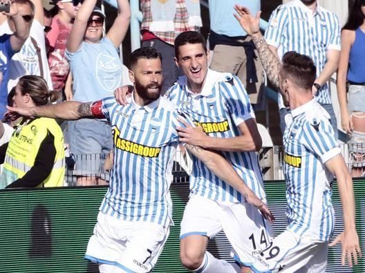 Festa Spal: ancora Serie A Antenucci stende la Samp