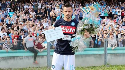 Christian Maggio è arrivato a Napoli nel 2008. Getty