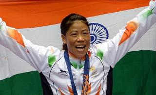Mary Kom, atleta di punta della boxe indiana