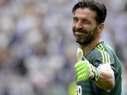 Il portiere della Juventus Gigi Buffon, 40 anni. Getty