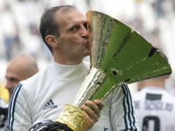 Il tecnico della Juventus Massimiliano Allegri. Getty