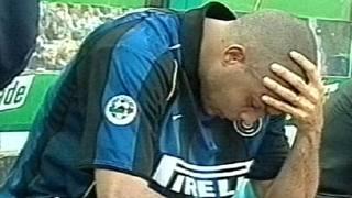 Ronaldo il 5 maggio 2002. Archivio