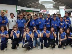 Foto di gruppo per gli azzurrini