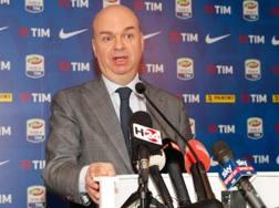Marco Fassone, a.d. del Milan. Ansa