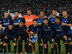 L'Inter schierata da Spalletti che ha battuto la Lazio all'Olimpico.