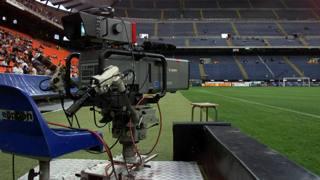 Lo stadio di San Siro a Milano. Ansa
