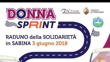 La locandina di Donna Sprint in Sabina