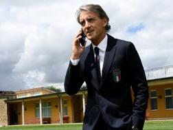 Roberto Mancini, 53 anni, c.t. della Nazionale, a Coverciano. Getty