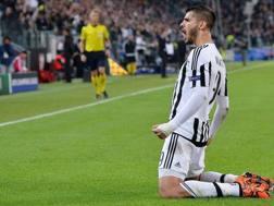 Álvaro Morata, 25 anni, ai tempi della Juventus. Ansa