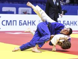 Elios Manzi, in gara nei 66 kg
