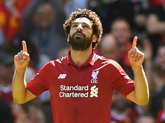 Mohamed Salah. AFP