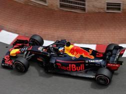 Daniel Ricciardo in azione a Montecarlo. Getty