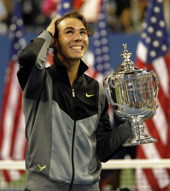 2010: Nadal trionfa anche a New York AFP