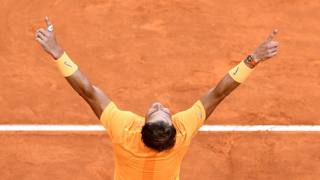 Rafael Nadal, 31 anni, dopo il trionfo a Roma INSIDE