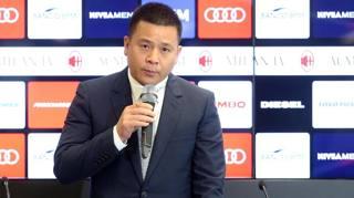 Li Yonghong, presidente e proprietario del Milan. Ansa