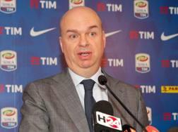 L'a.d. del Milan Marco Fassone. Ansa
