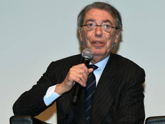 L'ex presidente dell'Inter Massimo Moratti. Getty