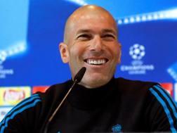 Zinedine Zidane, tecnico del Real Madrid. Epa
